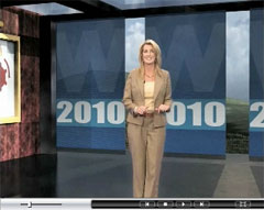 Screenshot of LearnKey's Word 2010 Training