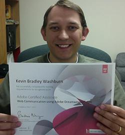 My Dreamweaver ACA Certification