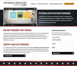 LKVS Website Redesign