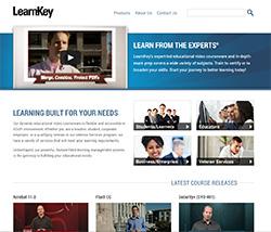 LearnKey Website Redesign