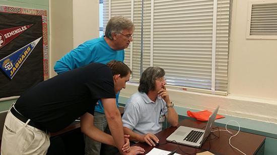 Brad, Norman, & Terry