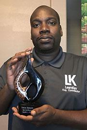 Tristan Roberts - Key Contributor Award