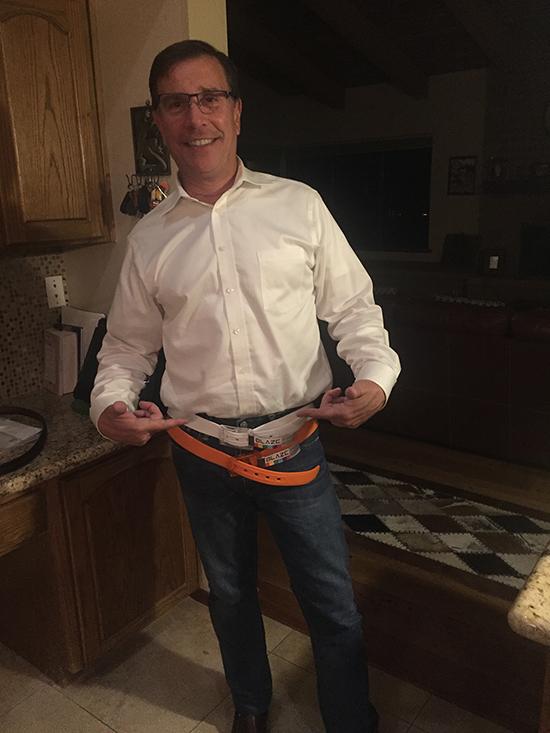 Jeff Gets Belted