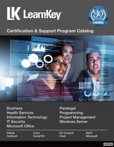LearnKey Certification and Support Catalog